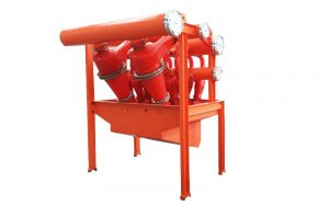 Desander Desilter Hydrocyclones Assembly