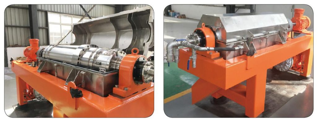 New Generation Decanter Centrifuge for Oilfield