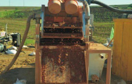 Pipline Construction Mud Desanding Unit
