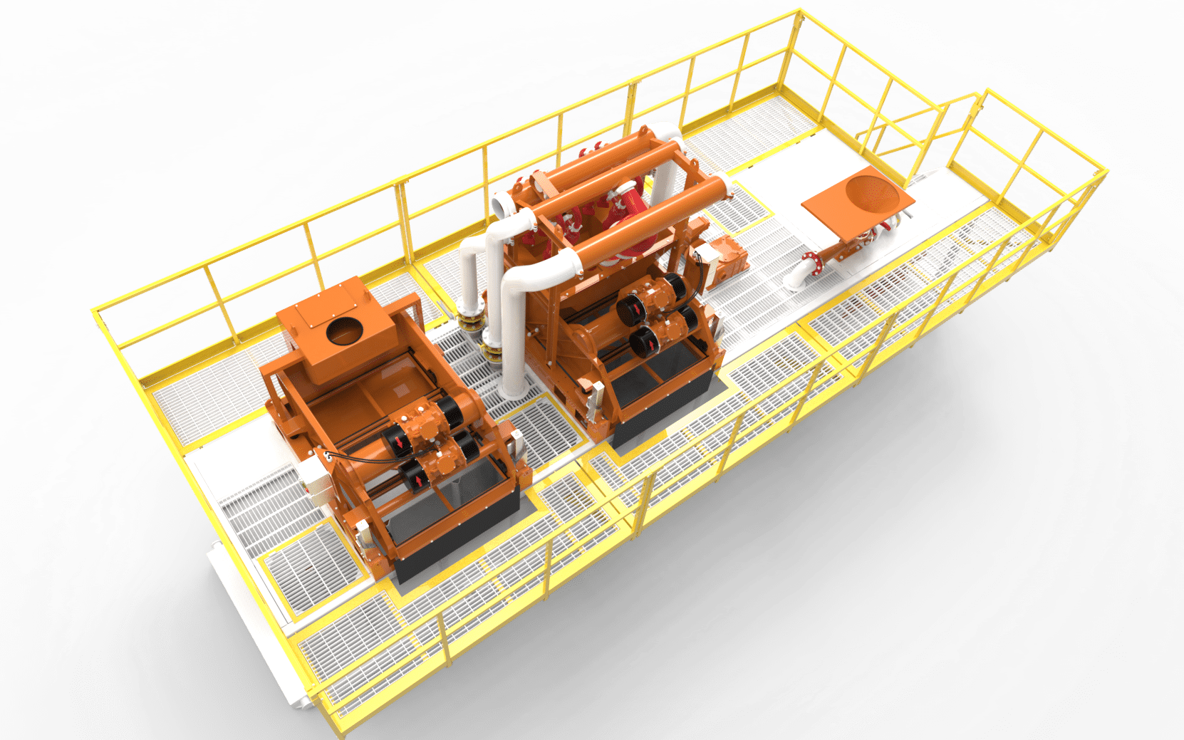 Mud Recycling System Package