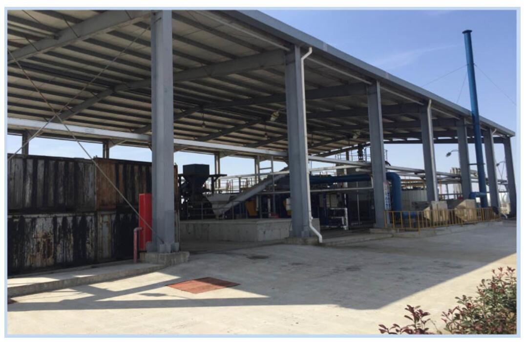 thermal desorption drill cuttings management plant