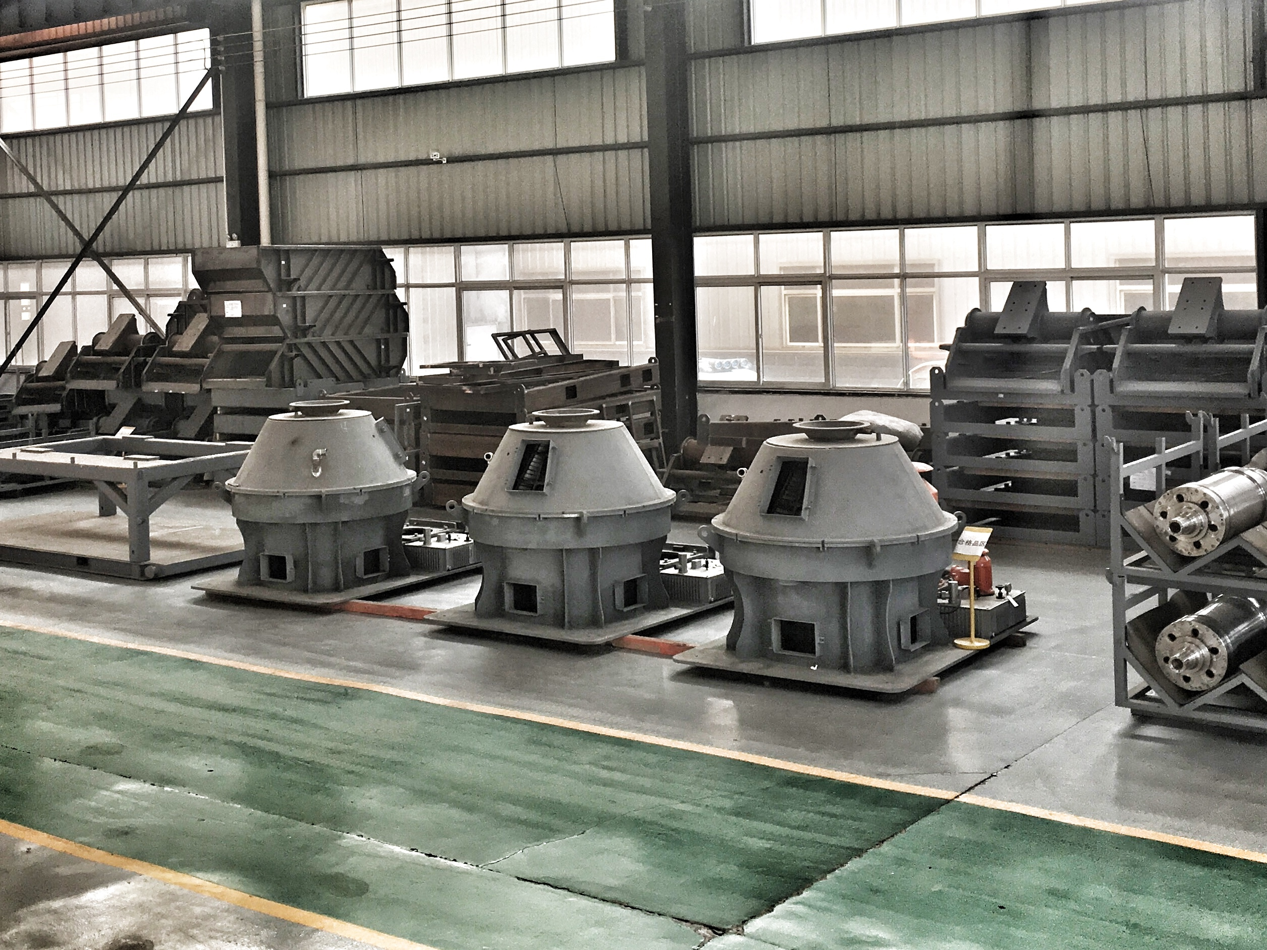 Vertical Cuttings Dryer Assembly
