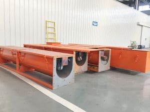 Drilling Cuttings Screw Conveyor