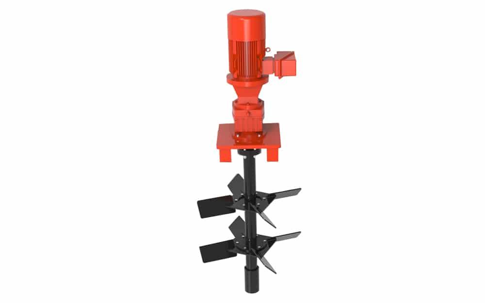 Vertical Drilling Mud Agitator